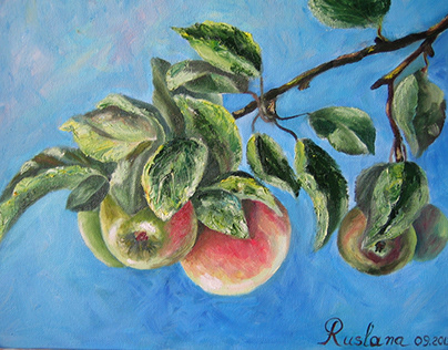 """""""Branch with apples"""""""