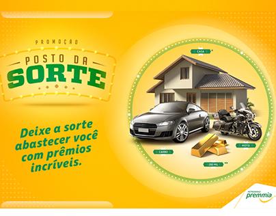 Promoção: POSTO DA SORTE - PREMMIA Petrobras 2017