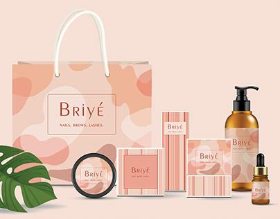 Briyé - logo, identity and branding