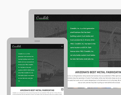 Creedbilt website
