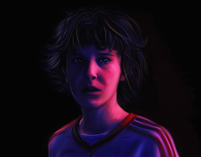 Eleven & Mike From Stranger Thıngs