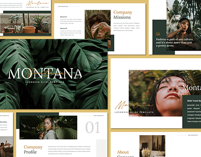[FREE PRESENTATION] Montana - Presentation Template