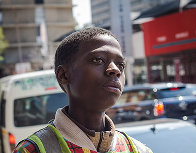 Homeless Youth in Johannesburg for LIVE Magazine