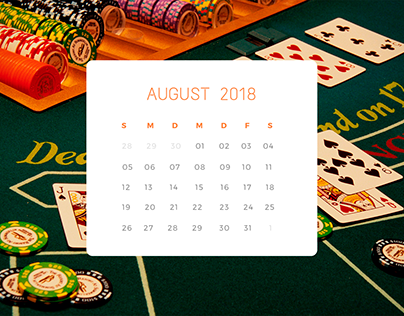 Der Spielcasino Kalender
