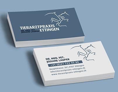 Neues CI für Tierarztpraxis Ettingen