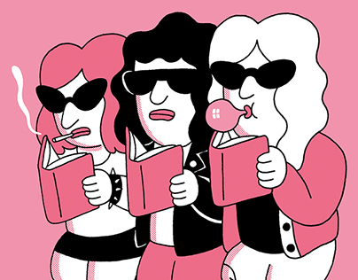 Tough girls reading club