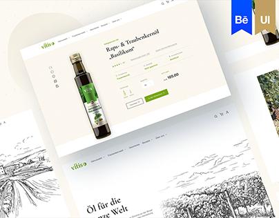 Vitis Vitalis - eCommerce Design