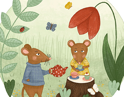 Tea time with the mice