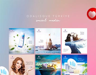 Odalisque Türkiye / Social Media