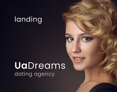 UaDreams - landing page