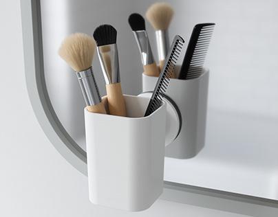 SURE LOCK Tooth brush holder | UMBRA