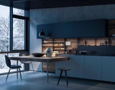Mountain House Kitchen / Zeytinburnu-Kocaeli