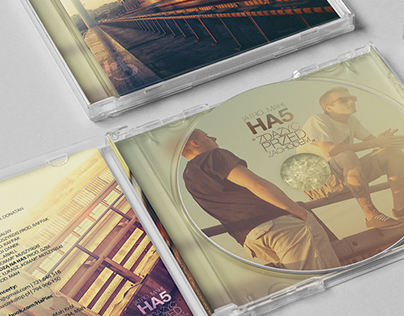Project of CD cover for Ha5 band