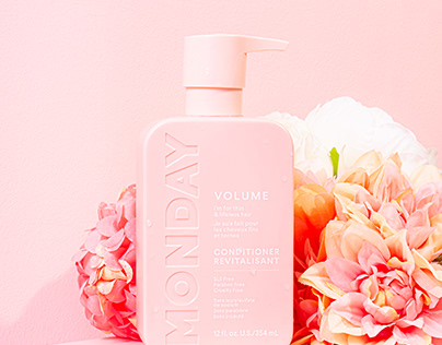 Monday Hair Care - Product Shoot