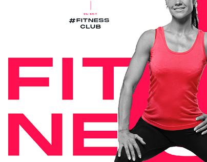 Hashtag Fitness Club Gym Branding