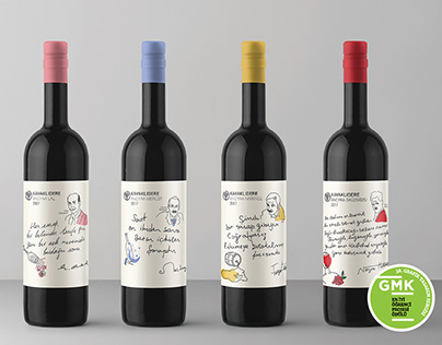 Wine label and Packaging Design