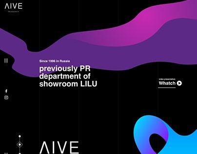 Creative website - LIVE PR agancy