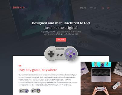 8bitdo Homepage
