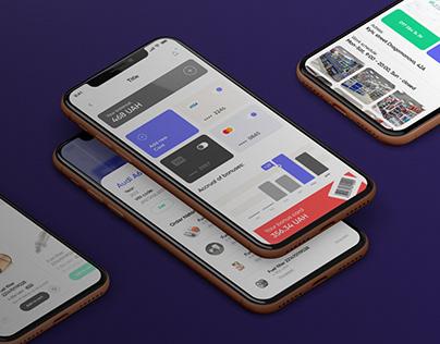 CARPER - ios app design