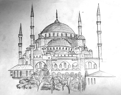 Monuments Drawing