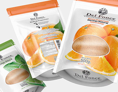 Package - Pulverized Sugar Cane - Del Fonce