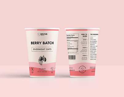 Revive Superfoods Packaging Concept