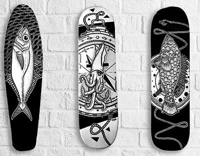 Skateboard Painting