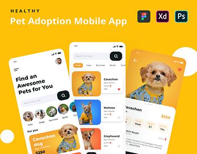 Mobile Healthy - Pet Adoption App
