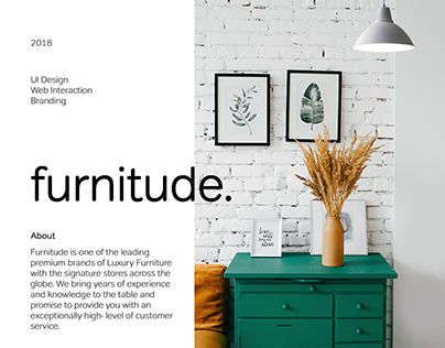Intuitive online furniture e-commerce store - furnitude
