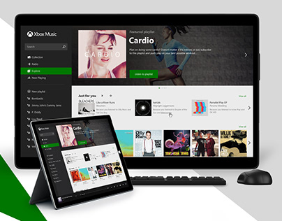 Xbox Music Web Player