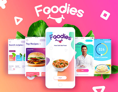 Foodies | App design