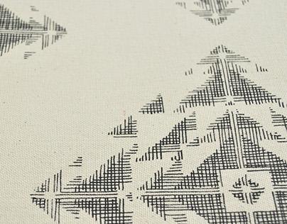 Pattern Flocon