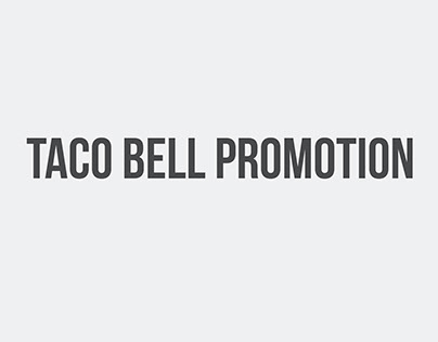 Taco Bell Promotion