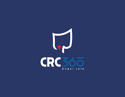 CRC360 Dubai '18   Brand Identity