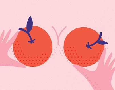 Tutti frutti Valentine's day