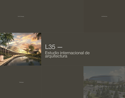 Architectural agency L35. Redesign - concept