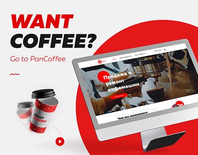 Web-Design for Pan Coffee
