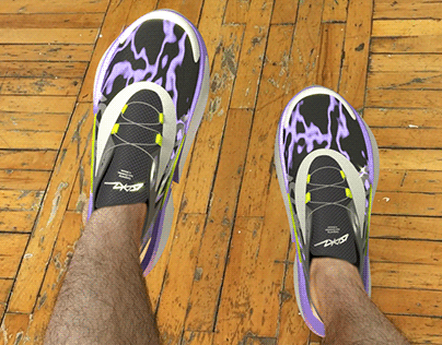 "AR footwear concept - ""ISDKV Record"""