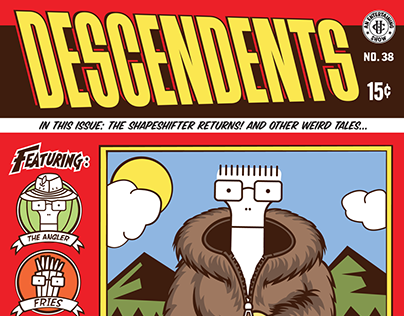 The Descendents - Gig Poster