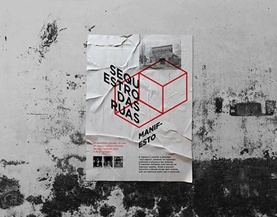Sequestro das ruas / Poster