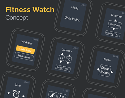 Fitness Watch Concept