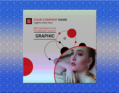 Corporate business web banner on Behance