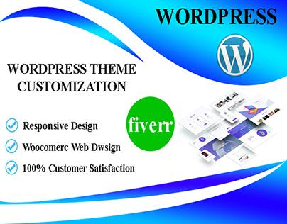 Full Website Design or WordPress Theme Customization