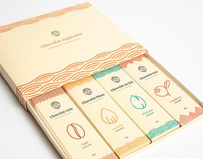 Packaging - chocolat équitable