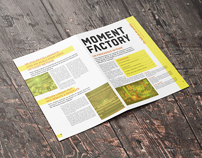 Journal interne - Moment Factory