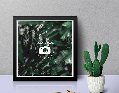 A4 and Square Frame Mockup