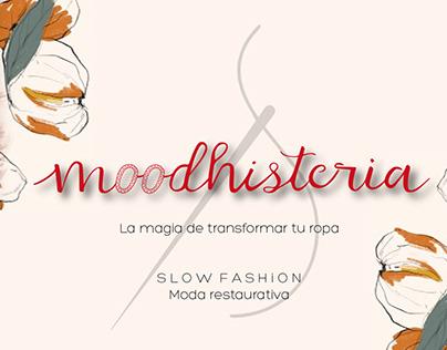 Diseño de logo Empresa Moodhistería