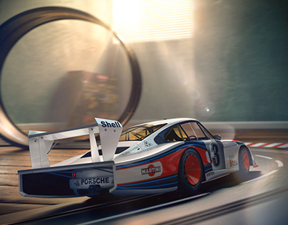 Porsche 935/78 Moby Dick Toy Story