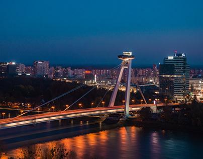 Night in Bratislava