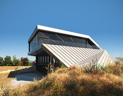 Shapeshifter House CGI